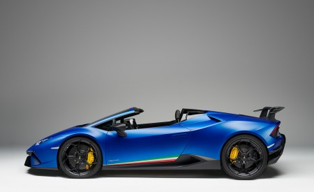 2019 Lamborghini Huracán Performante Spyder Side Wallpapers 450x275 (71)