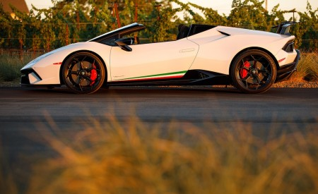 2019 Lamborghini Huracán Performante Spyder Side Wallpapers 450x275 (36)