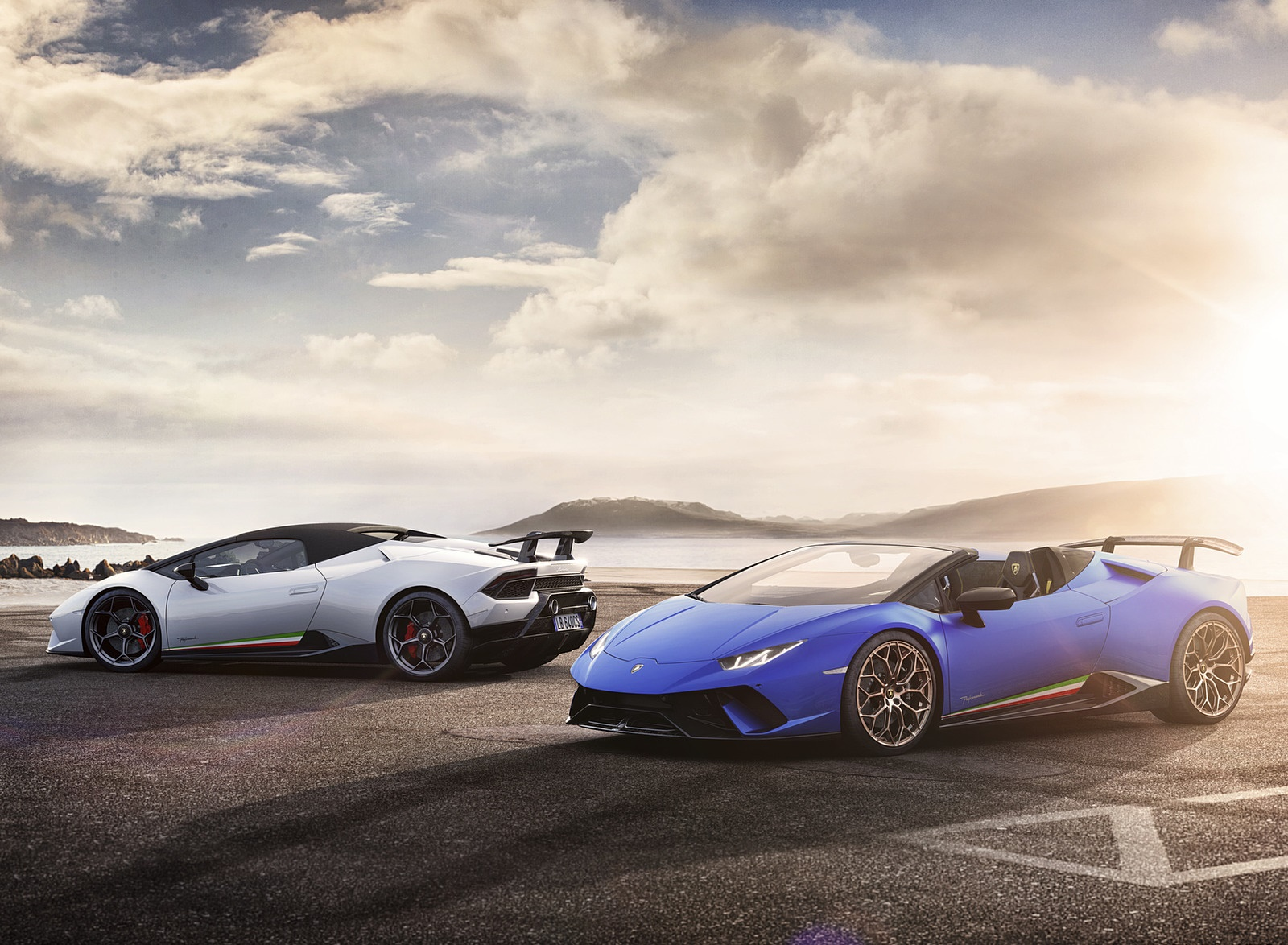 2019 Lamborghini Huracan Performante Spyder Wallpaper 57 Hd