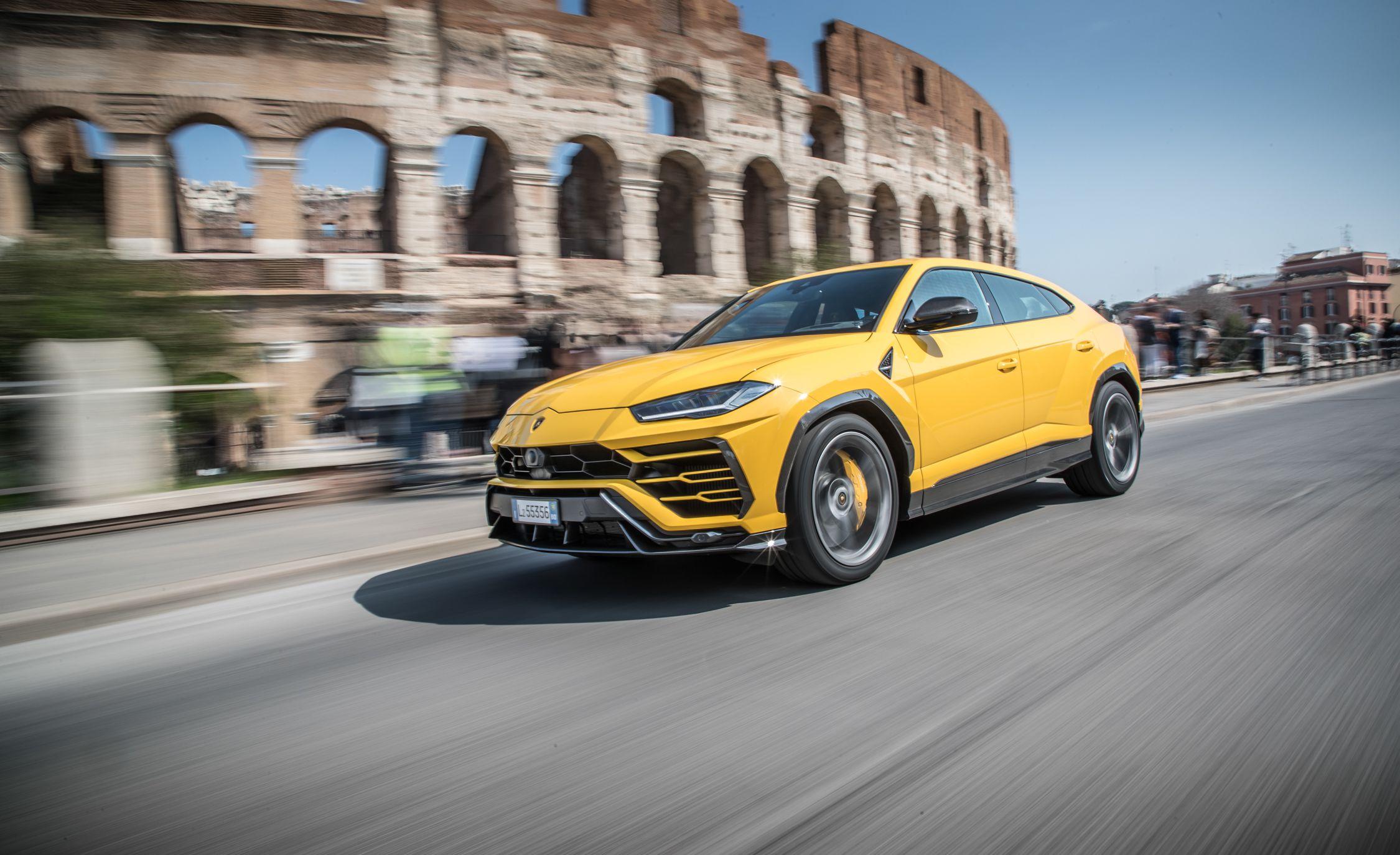 2019 Lamborghini Urus Front Three-Quarter Wallpapers (7)
