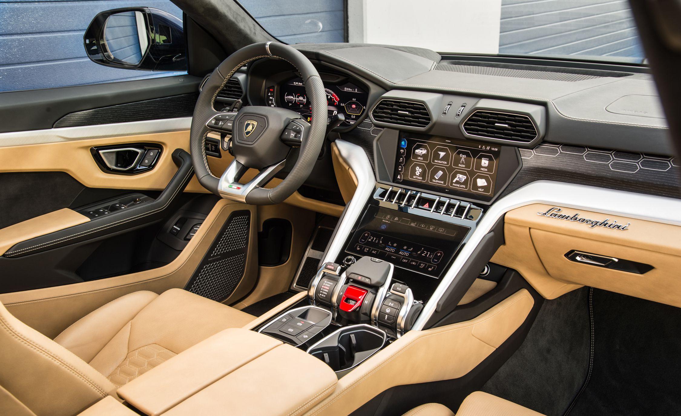 2019 Lamborghini Urus Interior Wallpapers 53 Newcarcars