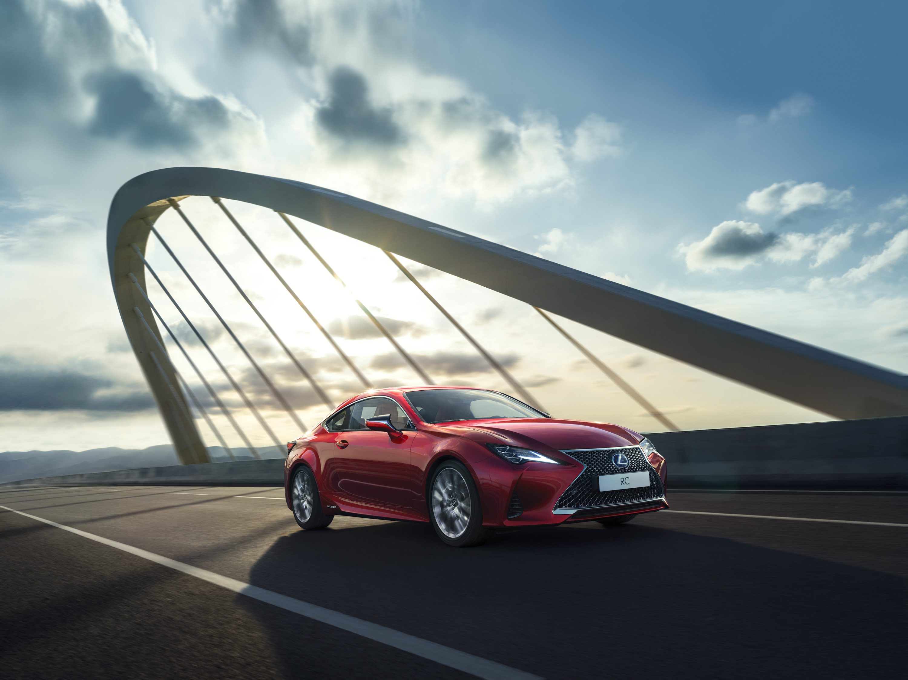 2019 Lexus RC Front Three-Quarter Wallpapers (1)