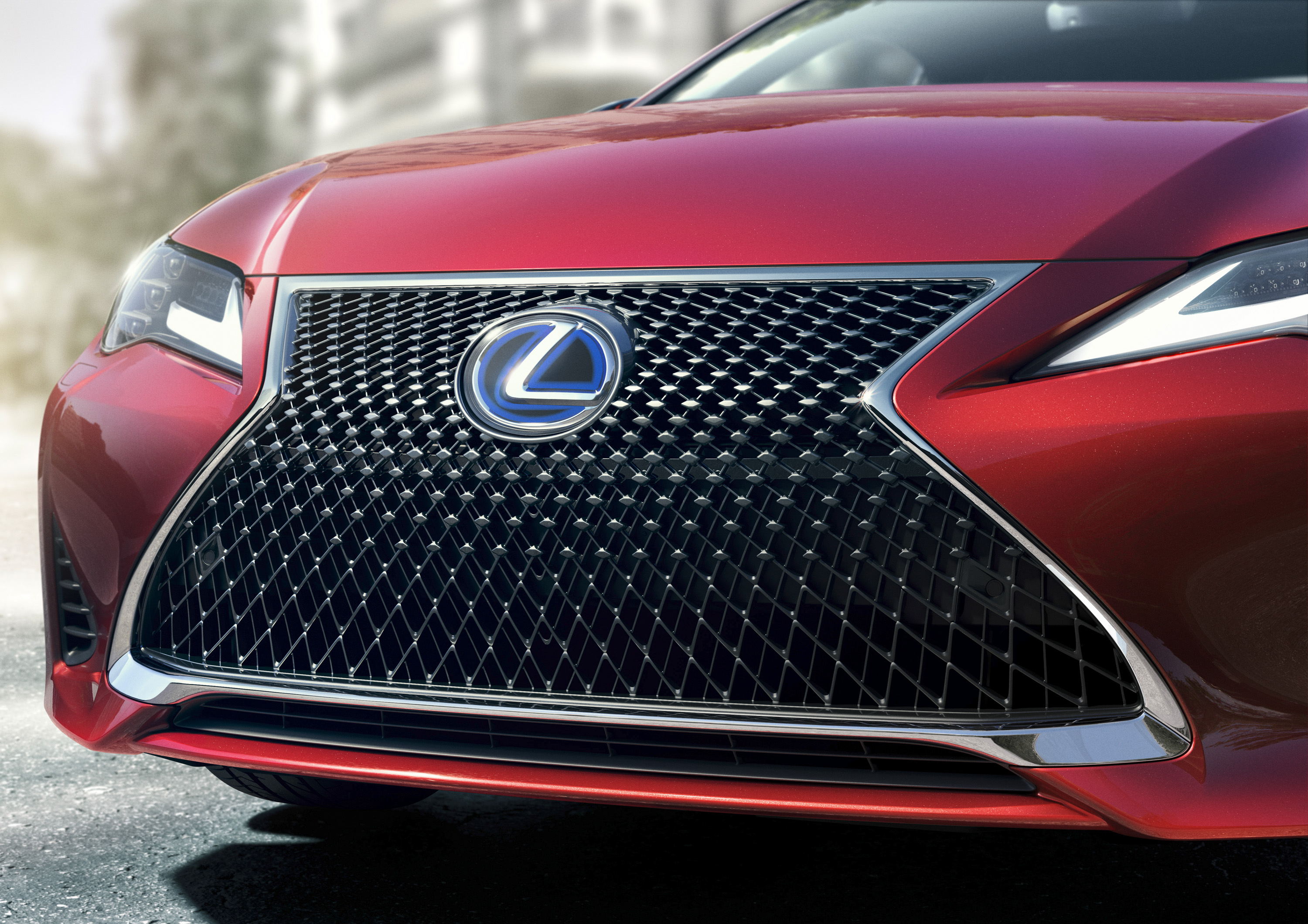 2019 Lexus RC Grill Wallpapers (4)