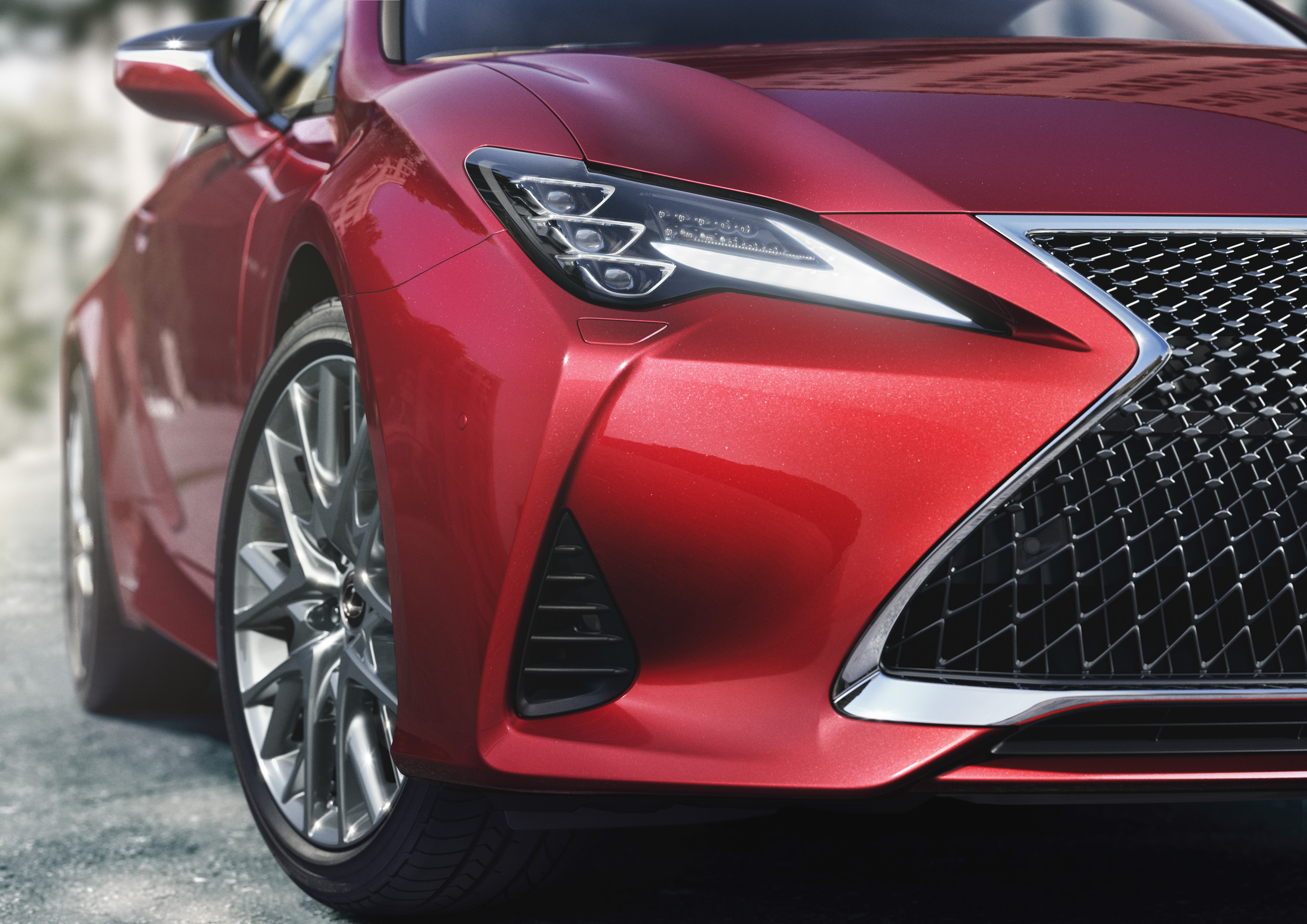 2019 Lexus RC Headlight Wallpapers (5)