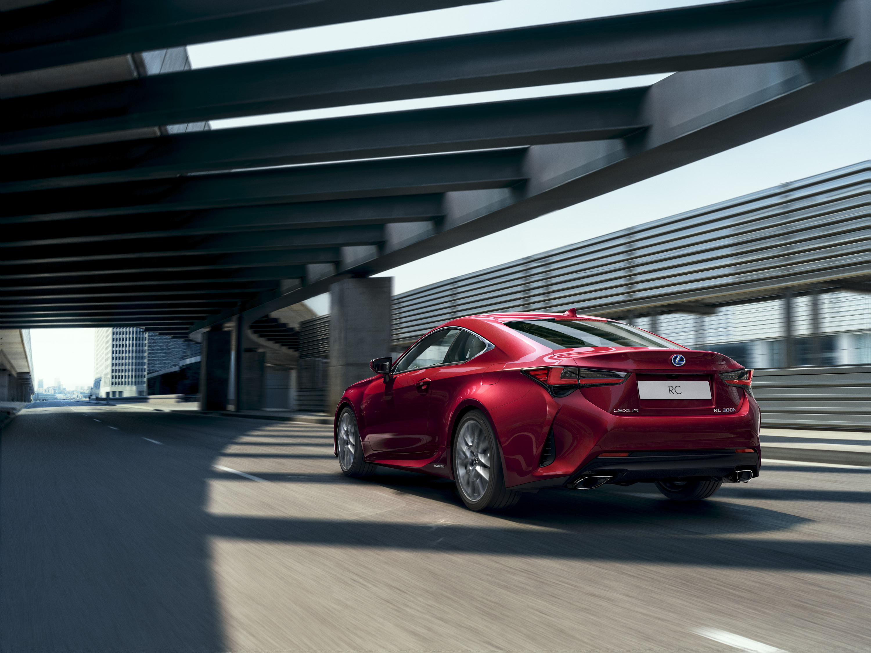 2019 Lexus RC Rear Three-Quarter Wallpapers (3)