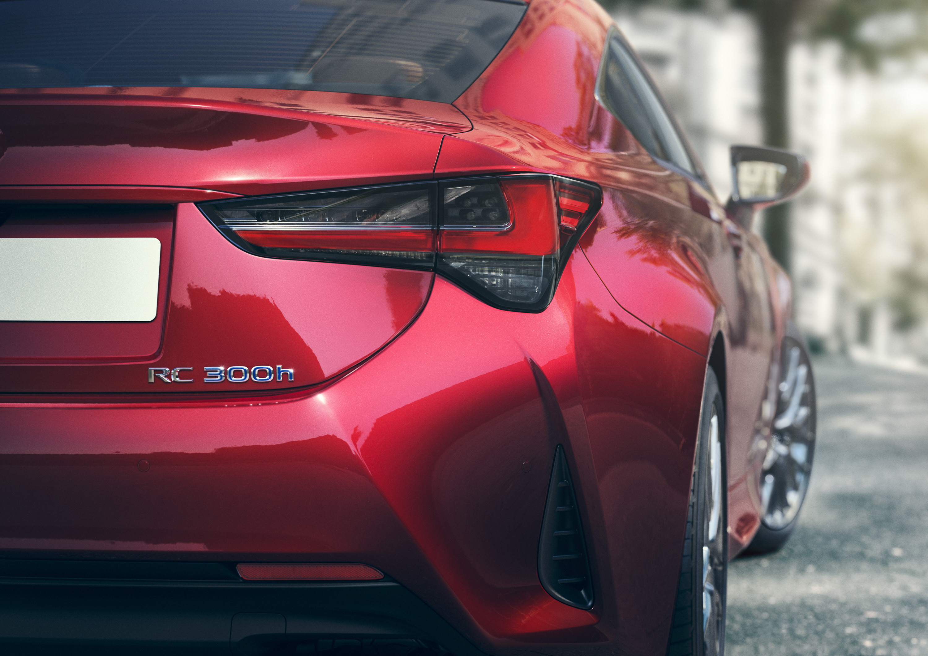 2019 Lexus RC Tail Light Wallpapers (6)