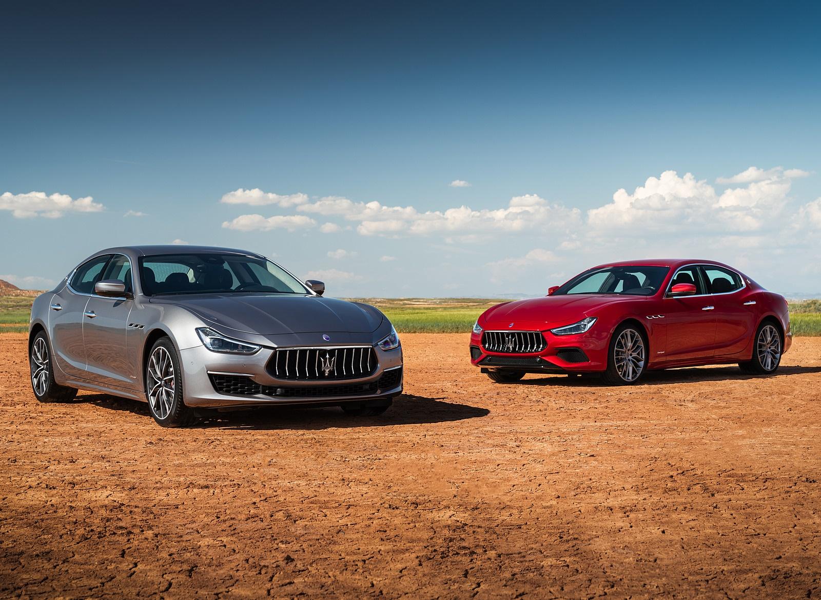 2019 Maserati Ghibli SQ4 GranSport and GranLusso Wallpapers (6)
