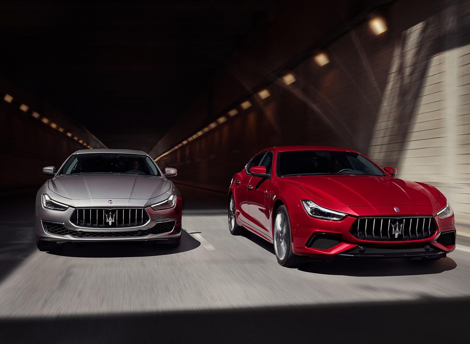 2019 Maserati Ghibli SQ4 GranSport and GranLusso Wallpapers (2)