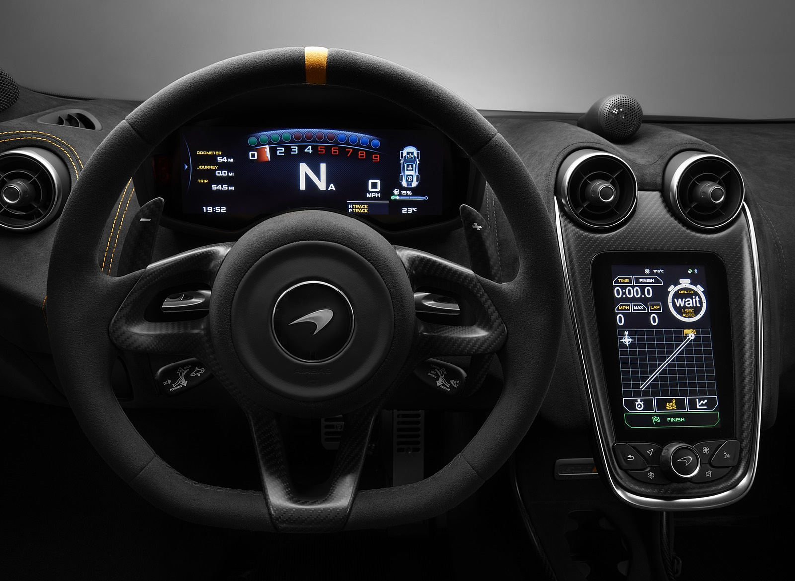 2019 Mclaren 600lt Coupe Interior Cockpit Wallpapers 82 Newcarcars