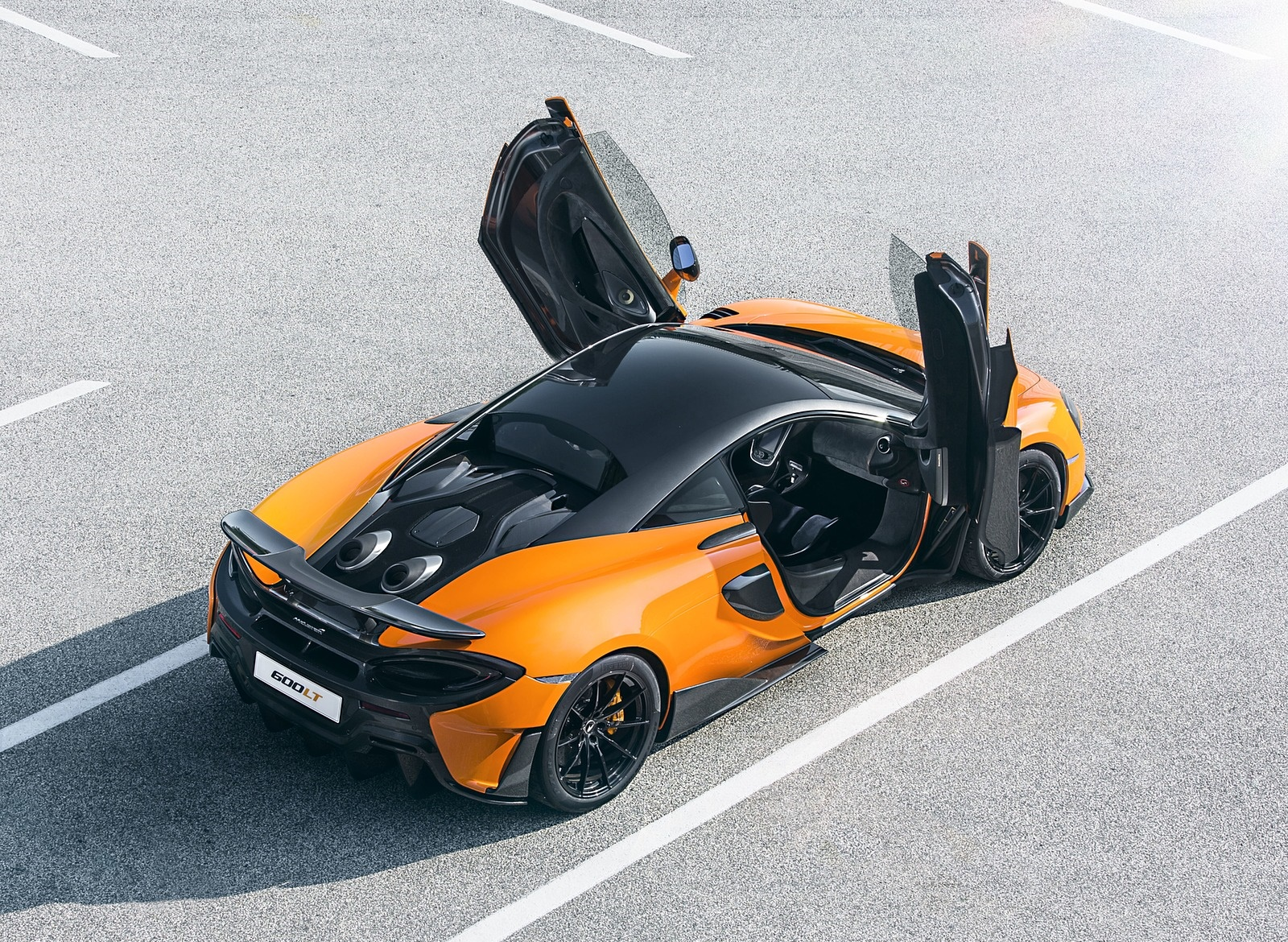 2019 McLaren 600LT Coupé Rear Three-Quarter Wallpapers (12)
