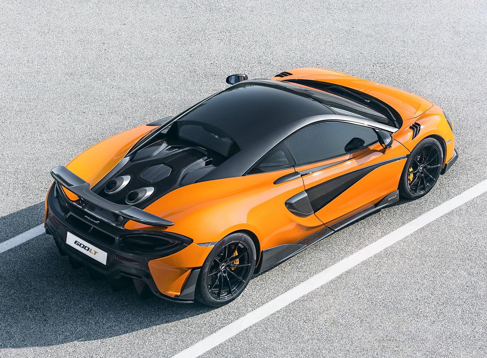 2019 McLaren 600LT Coupé Rear Three-Quarter Wallpaper (11)