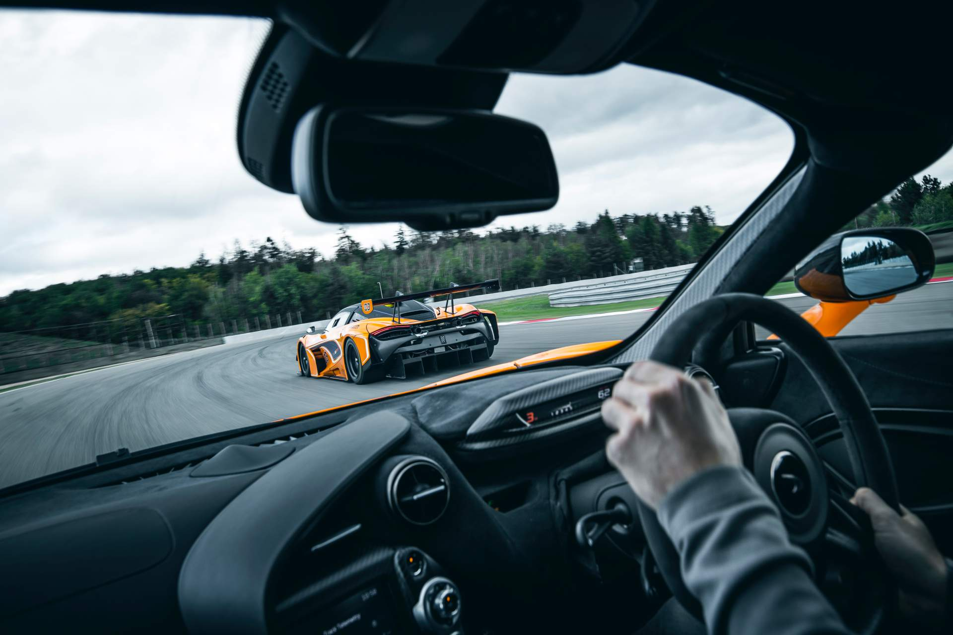 2019 McLaren 720S Track Pack Interior Wallpaper (7)