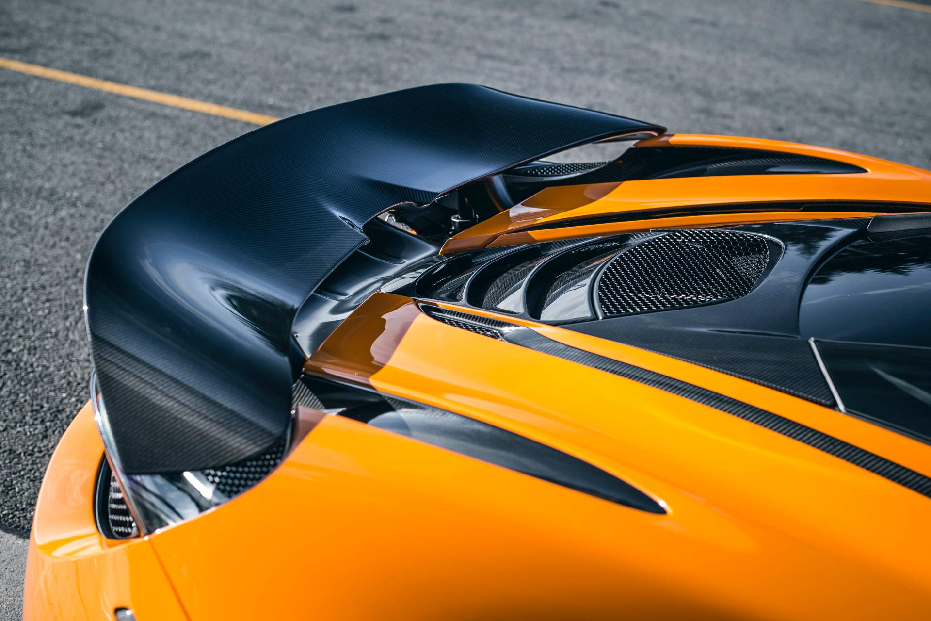 2019 McLaren 720S Track Pack Spoiler Wallpaper (8)