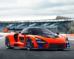 2019 McLaren Senna (Color: Delta Red) Front Three-Quarter Wallpapers 150x120 (22)