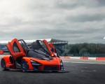 2019 McLaren Senna (Color: Delta Red) Front Three-Quarter Wallpapers 150x120 (23)