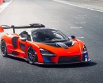 2019 McLaren Senna (Color: Delta Red) Front Three-Quarter Wallpapers 150x120 (26)