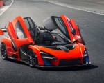 2019 McLaren Senna (Color: Delta Red) Front Three-Quarter Wallpapers 150x120 (27)