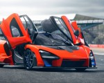 2019 McLaren Senna (Color: Delta Red) Front Three-Quarter Wallpapers 150x120 (28)