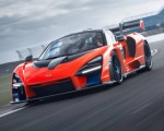 2019 McLaren Senna (Color: Delta Red) Front Three-Quarter Wallpapers 150x120 (13)