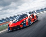 2019 McLaren Senna (Color: Delta Red) Front Three-Quarter Wallpapers 150x120 (2)