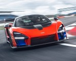 2019 McLaren Senna (Color: Delta Red) Front Wallpapers 150x120 (3)