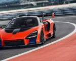 2019 McLaren Senna (Color: Delta Red) Front Wallpapers 150x120 (30)