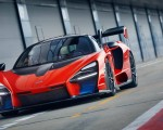 2019 McLaren Senna (Color: Delta Red) Front Wallpapers 150x120 (31)