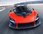 2019 McLaren Senna (Color: Delta Red) Front Wallpapers 150x120 (4)