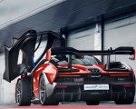 2019 McLaren Senna (Color: Delta Red) Rear Three-Quarter Wallpapers 150x120 (32)