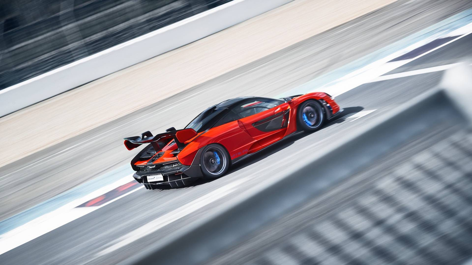 2019 McLaren Senna (Color: Delta Red) Rear Three-Quarter Wallpapers (9)
