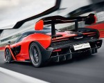 2019 McLaren Senna (Color: Delta Red) Rear Three-Quarter Wallpapers 150x120 (5)
