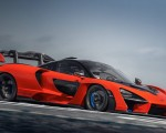 2019 McLaren Senna (Color: Delta Red) Side Wallpapers 150x120 (35)