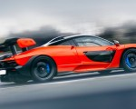 2019 McLaren Senna (Color: Delta Red) Side Wallpapers 150x120 (19)