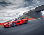 2019 McLaren Senna (Color: Delta Red) Side Wallpapers 150x120 (6)