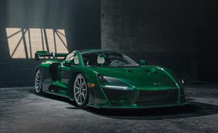 2019 McLaren Senna (Color: Emerald Green) Front Three-Quarter Wallpapers 450x275 (103)