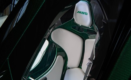2019 McLaren Senna (Color: Emerald Green) Interior Seats Wallpapers 450x275 (109)