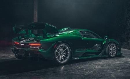 2019 McLaren Senna (Color: Emerald Green) Rear Three-Quarter Wallpapers 450x275 (105)