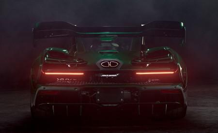 2019 McLaren Senna (Color: Emerald Green) Rear Wallpapers 450x275 (107)