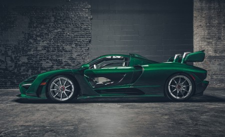 2019 McLaren Senna (Color: Emerald Green) Side Wallpapers 450x275 (106)