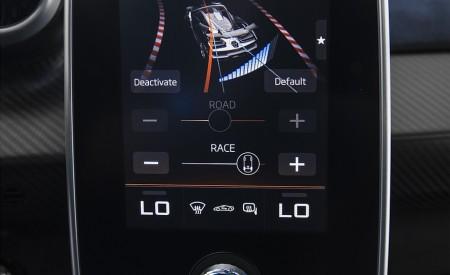 2019 McLaren Senna (Color: Kyanos Blue) Central Console Wallpapers 450x275 (68)