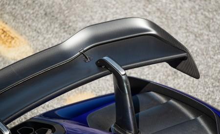 2019 McLaren Senna (Color: Kyanos Blue) Spoiler Wallpapers 450x275 (63)