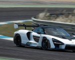 2019 McLaren Senna (Color: Pure White) Front Three-Quarter Wallpapers 150x120 (46)