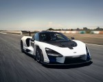 2019 McLaren Senna (Color: Pure White) Front Wallpapers 150x120 (49)