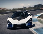 2019 McLaren Senna (Color: Pure White) Front Wallpapers 150x120 (50)