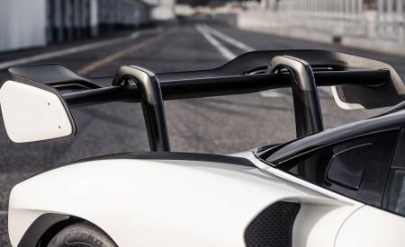 2019 McLaren Senna (Color: Pure White) Spoiler Wallpapers 450x275 (56)