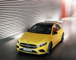 2019 Mercedes-AMG A35 4MATIC (Color: Sun Yellow) Front Three-Quarter Wallpapers 150x120