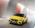 2019 Mercedes-AMG A35 4MATIC (Color: Sun Yellow) Front Three-Quarter Wallpapers 150x120 (23)