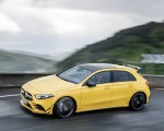 2019 Mercedes-AMG A35 4MATIC (Color: Sun Yellow) Front Three-Quarter Wallpapers 150x120 (2)