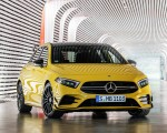 2019 Mercedes-AMG A35 4MATIC (Color: Sun Yellow) Front Wallpapers 150x120