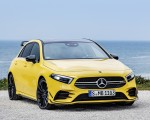 2019 Mercedes-AMG A35 4MATIC (Color: Sun Yellow) Front Wallpapers 150x120 (14)